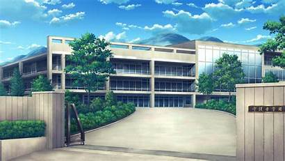 Background Anime Scenery Wallpapers Gate Backgrounds Academy
