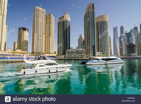 Ferry Boat Dubai by The Rta Dubai Ferry And A Boat In Dubai Marina