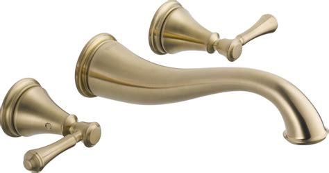 Delta Cassidy Faucet Direct by Delta 3597lf Czwl Chagne Bronze Cassidy Wall Mounted