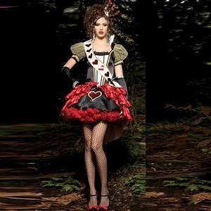 Alice Im Wunderland Kleidung : herzk nigin alice im wunderland damen kost m karneval fasching verkleidung kleid ebay ~ Frokenaadalensverden.com Haus und Dekorationen