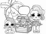Coloring Confetti Lol Pop Dolls sketch template