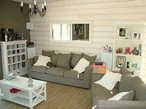 354291 369773506 salon lambris blanc mur h212402 l deco With tapis couloir avec canapé bio sans polyurethane