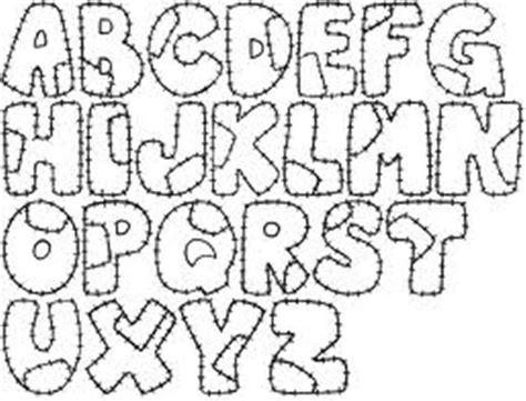 molde para hacer letras imagui goma foami fonts typography and molde