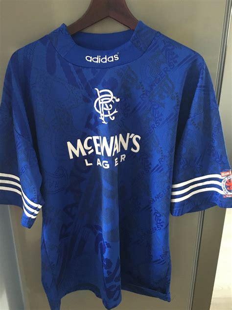 Retro rangers mod apk 1.2.7. Rangers Home football shirt 1994 - 1996.