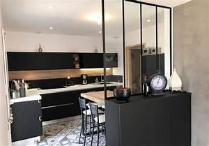 Le top de la cuisine for Deco cuisine avec chaise design noir