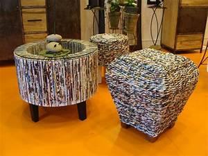 Papier Deco Meuble : des exemples de meubles en papier meubles ~ Teatrodelosmanantiales.com Idées de Décoration