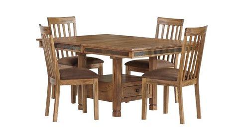 slumberland furniture sedona collection rustic dining