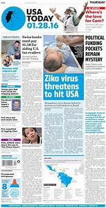 Newspaper USA Today (USA). Newspapers in USA. Thursday's ...