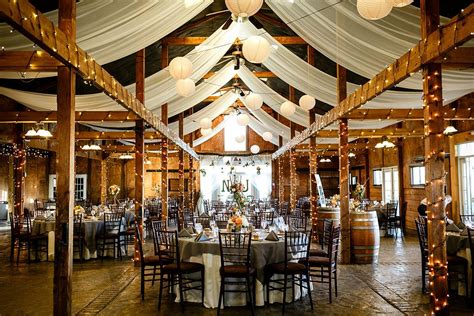 lovely rustic barn reception   wedding venues