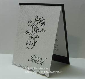 stampin up wedding invitations wedding cards for my With wedding invitation for niece