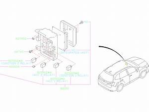 Subaru Forester Fuse  Electrical  Wiring  Harness
