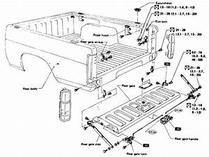 Ford Tailgate Parts Diagram