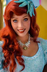 Princess Ariel at Disneyland