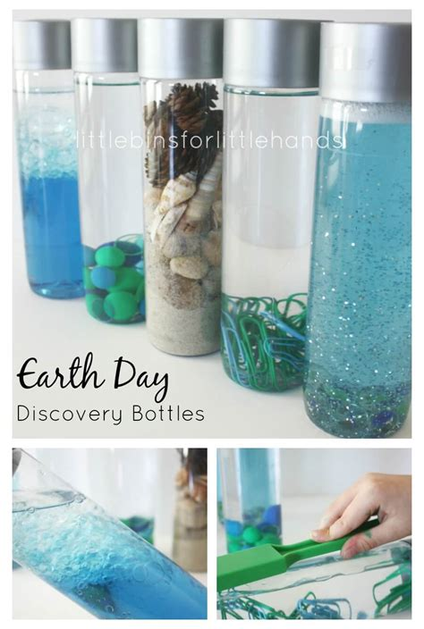 earth day discovery bottles science sensory bottles 200 | Earth Day Discovery Bottles Preschool Sensory Science Bottles