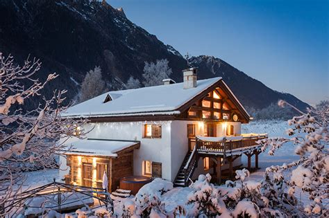 luxury catered chalet chamonix and orange chalet