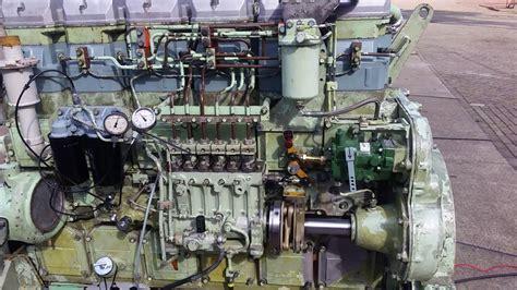 Marin Mitsubishi by Mitsubishi Marine Diesel Engine S6r2 Mptk Start Up After