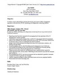 resumes objective or summary objective resume sle best resume exle