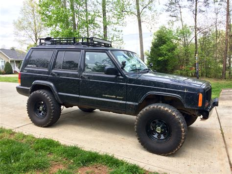 jeep xj lifted xj 33s with 3 inch lift page 3 jeep cherokee forum