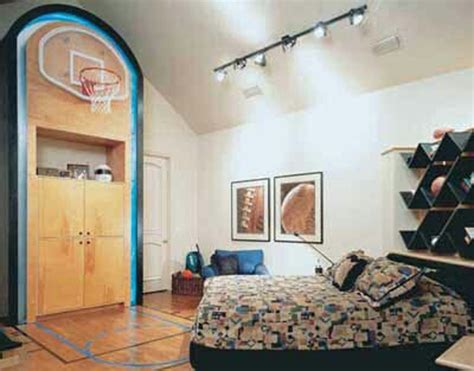 bedroom basketball hoop 20 sporty bedroom ideas with basketball theme home 10280