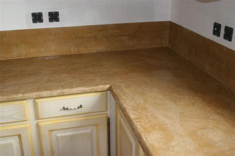 plan de travail en béton ciré cuisine enduits et décoration intérieure artisan maçon victor