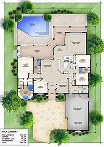 Modern, House, Plans, With, Swimming, Pool, Ideasidea, With, The