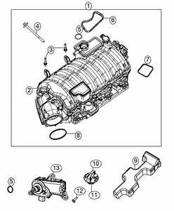 2015 Jeep Grand Cherokee Actuator  Intake Short Running