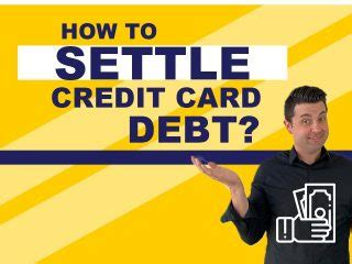 Is it best to pay off one credit card, or pay off multiple credit card debts over time? How to offer to settle debt with a reduced lump sum payment