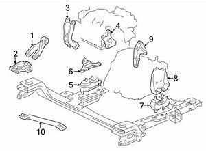 Chevrolet Uplander Strut  Engine  Assembly