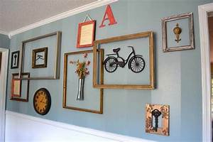 With diy ideas picture frame wall clock decoration