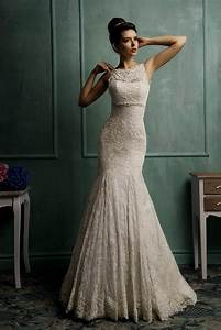 Beige lace wedding dress naf dresses for Beige lace wedding dress