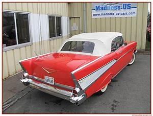 Madness Us Car : chevrolet bel air cabriolet 1957 ~ Medecine-chirurgie-esthetiques.com Avis de Voitures