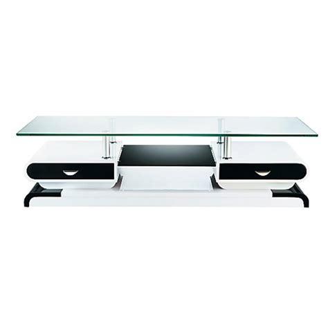 cuisine modulable conforama meuble tv blanc noir laqué mobilier design décoration d