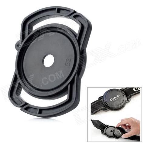 lens universal 55mm universal 43 52 55mm lens cap holder buckle for
