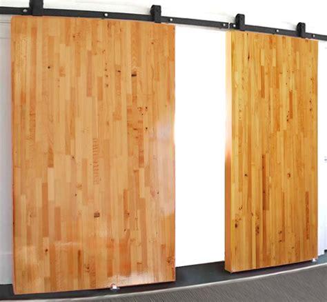 Large Barn Doors by Large Lightweight Honeycomb Sliding Door Non Warping