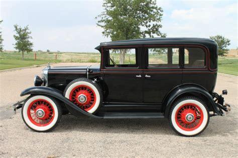 1930 Chevrolet Series Ad 4 Door Sedan (professional Frame
