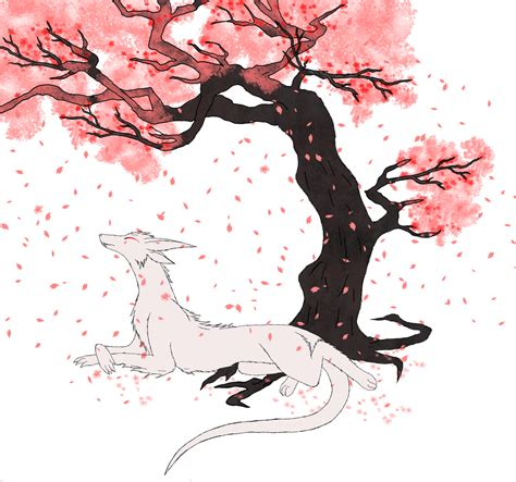 Sakura Tree Drawing Wwwimgkidcom The Image Kid Has It