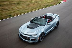 2017 Chevrolet Camaro ZL1 Convertible Brings Its Soft Top ...