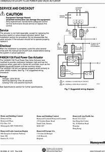 Honeywell Thermostat V4062b Users Manual 60 2099 V4062a B
