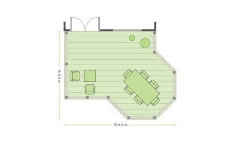overlook deck design plans trex