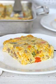 Egg and Sausage Breakfast Pie