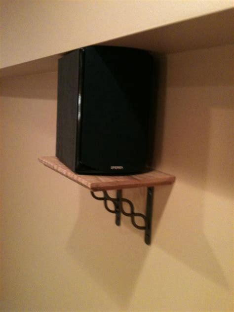 show   diy speaker wall mounts avs forum home theater discussions  reviews