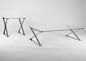 Pied Metal Table Basse : verre a pied metal ~ Dailycaller-alerts.com Idées de Décoration
