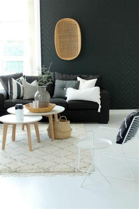 deco salon avec canape gris déco salon deco nordique avec tapis beige et canapé gris