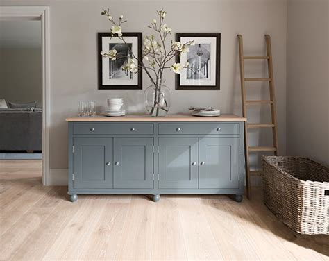 Painted Kitchen Sideboards by Suffolk 6ft Sideboard Painted In Smoke Neptune