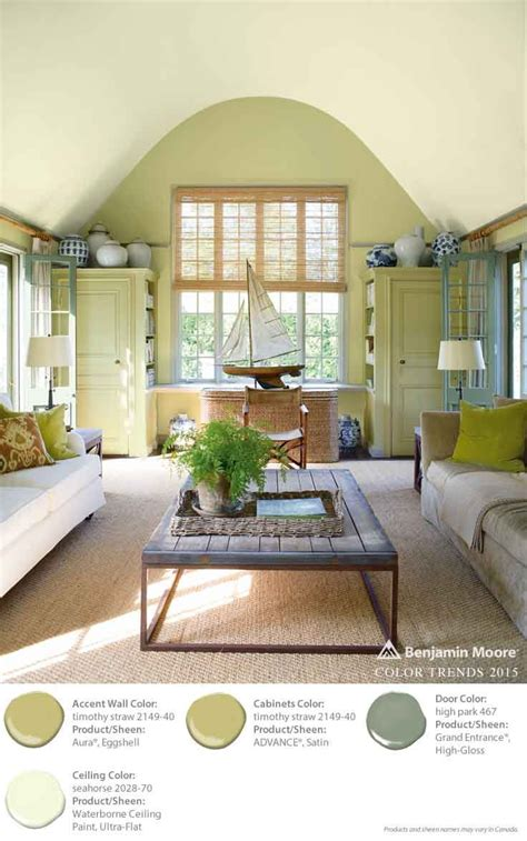 benjamin moore color trends 2015 accent wall timothy