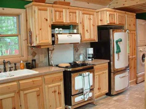 knotty wood kitchen cabinets 10 rustic kitchen designs with unfinished pine kitchen 6677