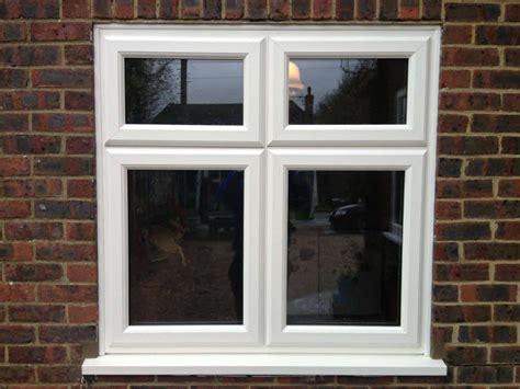White Woodgrain Upvc Window Gallery  Dorking Glass
