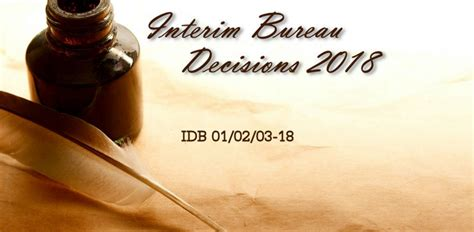bureau interim interim bureau decisions 1 2 and 3 air sports
