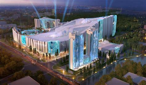 worlds largest  wintastar shanghai resort
