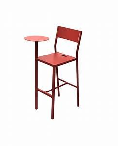 Chaise De Bar Grise : chaise de bar sit mati re grise ~ Voncanada.com Idées de Décoration